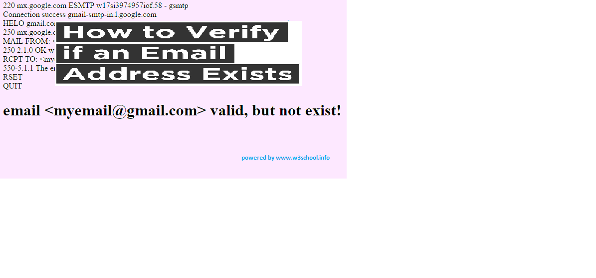 Verify Email is Exists in real world or not ,Download Php code