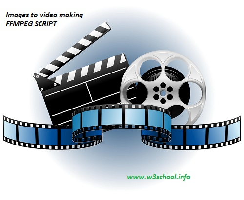 images to video making php and ffmpeg script