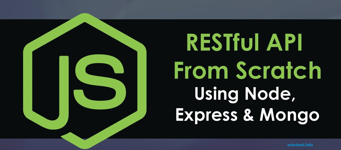 Create Restful CRUD API using Node js Express MongoDB - W3SCHOOL